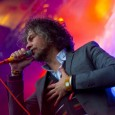 The final night of the first Snowball Festival in Avon featured a headlining performance from The Flaming Lips.  In a steady snowstorm, the Lips delivered their wild and circus-like show with every ounce of vigor they had, despite the frigid temperatures.