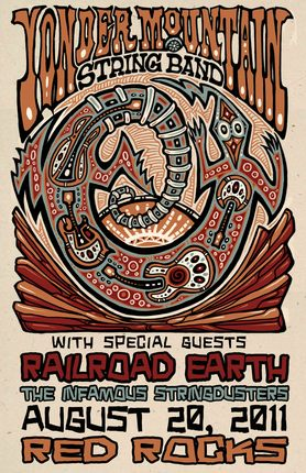 Yonder Mountain String Band Announces Annual Red Rocks Show