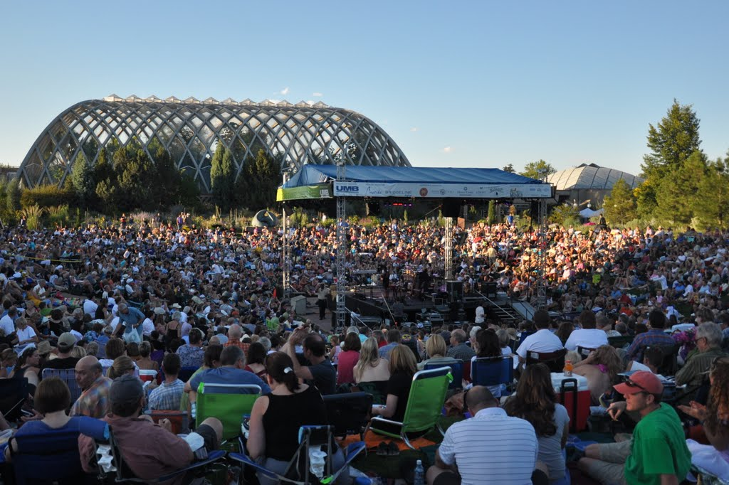 Denver botanic gardens unveil 2012 concert schedule for Denver botanic gardens concerts