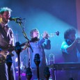 Last Thursday night Bon Iver took over Red Rocks and Justin Vernon proved that there may be no better venue on the planet for him to work his magic as he whisked us all away to that eerily special place that only his voice can conjure up.  The crowd swooned as the unshaven Vernon's voice reverberated off the rocks that towered on each side of the amphitheater and his nine piece band fleshed out the sound with guitars, strings, horns, keys, and booming drums. It was truly a magical night on the rocks.