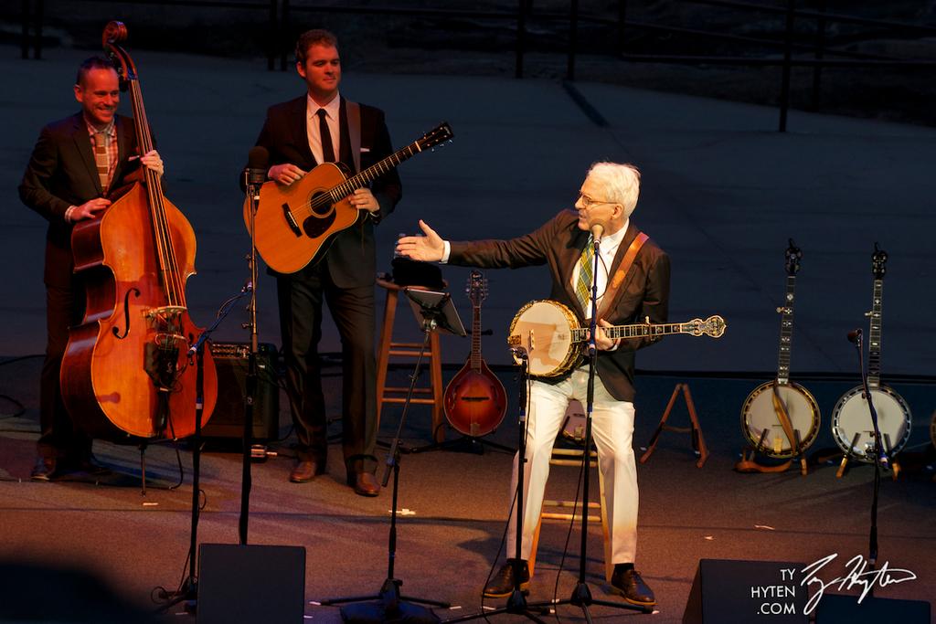 Emmylou Harris Steve Martin Arlo Guthrie July 18th Red Rocks