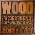 In the midst of their hiatus, Widespread Panic dropped a two disc live album that pulls together material from their four city tour that took place earlier this year...and it's a real change of pace for the kings of Southern Jam Rock.   In the place of thunderous Bass bombs, scorching lead Guitar riffs, and volume knobs turned to eleven, 'Wood' showcases their softer side as it chronicles the group's first ever fully acoustic tour in all it's glory.