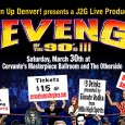 "As the hair bands of the 80's receded into the mist of Seattle's Grunge scene, Hip-Hop, dancing divas and boy bands hit the mainstream.  No matter your flavor, the music of the 90's offered a little something for everyone and now it's time to relive it all!  ""Revenge of the 90′s III"" will feature over 40 of the best musicians from more than a dozen local bands, and they will be covering all types of music from the decade."
