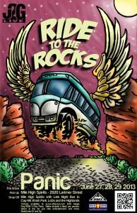 Ride to the Rocks Panic 2013