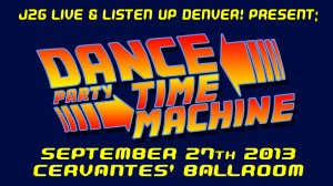 Dance Party Time Machine Title Screen