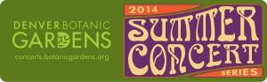 2014 Botanic Gardens Concerts