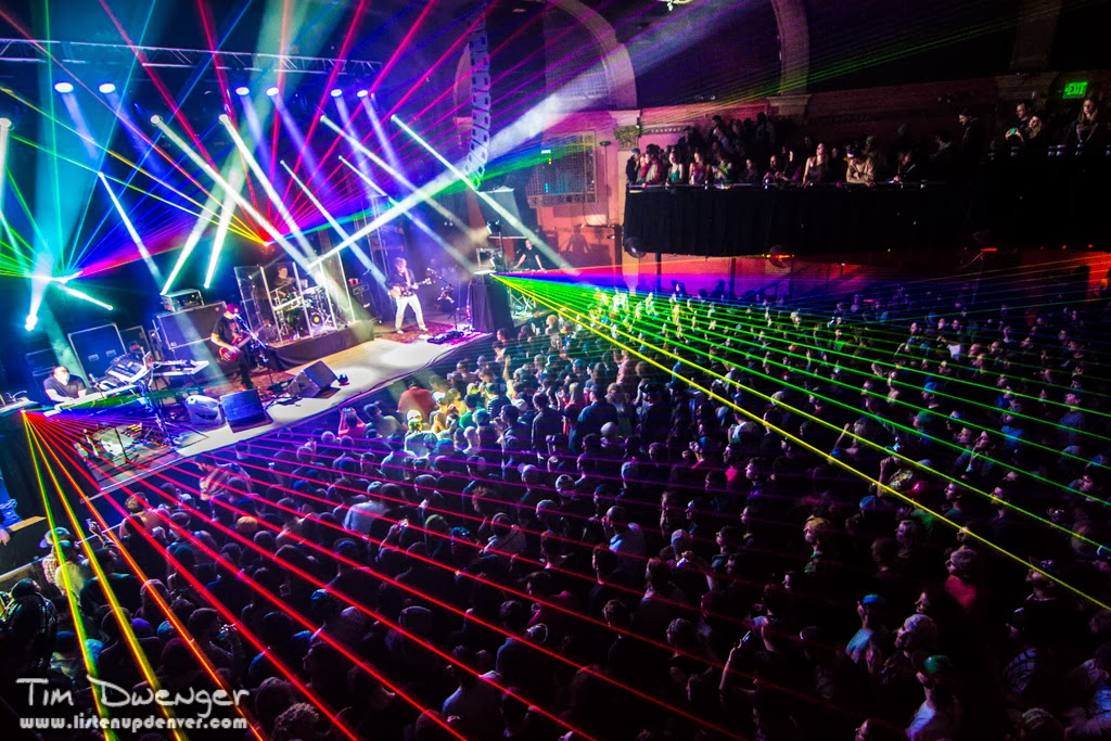 Disco Biscuits Lighting Director Johnny Goode Talks About