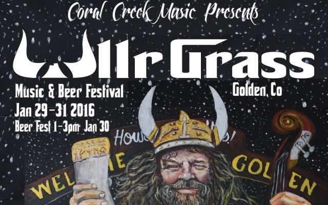 Four things things we cherish here in Colorado are music, winter activities, a good cause, and what was the fourth…oh yeah, beer! Last year a festival made its inaugural run that encompasses all of these things we hold so dear. Recently, Listen Up Denver! had a chance to chat with Chris and Susannah about UllrGrass festival taking place January 29th-31st in Golden.