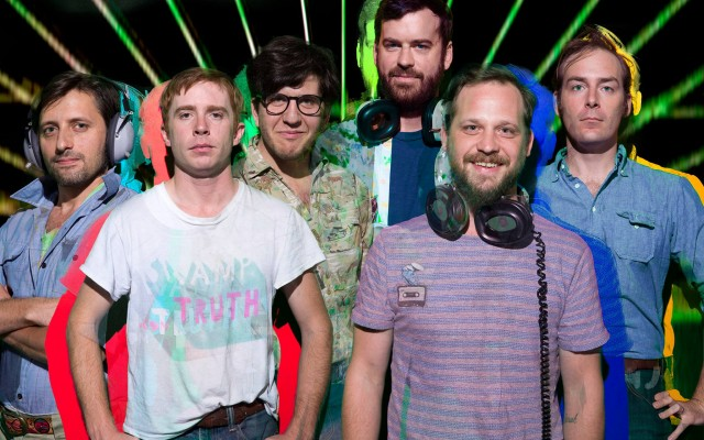 """After releasing a live album at the top of 2015, Dr. Dog immediately began an intense collaboration with The Pig Iron Theatre Company, setting out to present their legendary (though still unreleased) 1999 album, The Psychedelic Swamp, in theatrical form. With a cast of 30 and an oversized production budget, the performances amazed both rock fans and theater-goers alike, the Philadelphia Inquirer's pop critic called it """"Ingenious"""" and """"Full of heart and soul."""""""