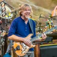 """Trey Anastasio, legendary guitarist for Phish, stopped into Red Rocks for the first time since 2009 (and first time with TAB since 2005) and there's no doubt he was happy to be back.  Anastasio's grin was a near permanent fixture from the first time he appeared on stage to sit in with Vulfpeck for a take on """"Rango"""" early in the night, till the final notes of """"Dazed and Confused"""" reverberated off the rocks and disappeared into the night air."""
