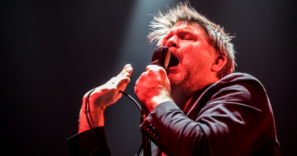 After two stellar shows at Red Rocks in August of 2016, the return of James Murphy and LCD Soundsystem has been the talk of Denver's music community and the city had been buzzing about this show for months.  As fans filed into the arena, the band's giant disco ball was a welcome site as it foreshadowed the giant party that was about to erupt.  There was no shortage of energy in the 1stBank Center and there didn't seem to be an empty seat in the place as the razor sharp beams of light from the disco ball probed the farthest reaches of the room.